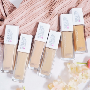 รองพื้นหน้าเป๊ะ Maybelline Super Stay Full Coverage Foundation